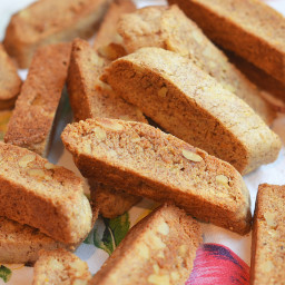 Cinnamon Walnut Biscotti