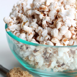 Cinnamon Brown Sugar Popcorn