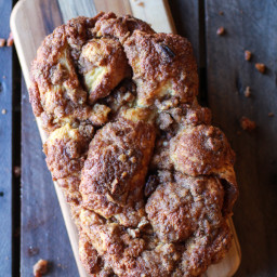 Cinnamon Crunch Braided Brioche Bread