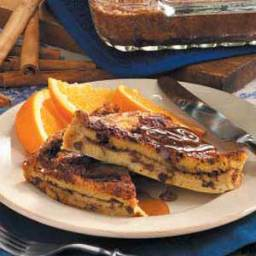 Cinnamon Raisin Strata Recipe