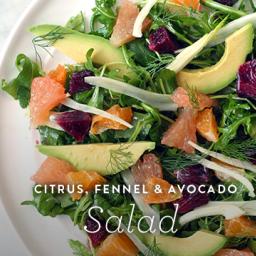 Citrus, Fennel and Avocado Salad