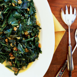 Citrus Collards with Raisins