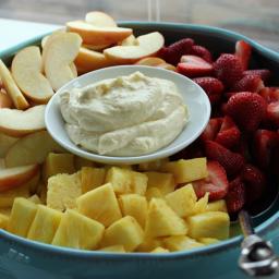 Citrusy Cream Cheese Fruit Dip