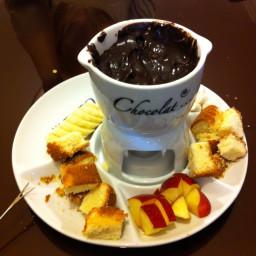 Classic Chocolate Fondue