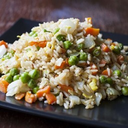 Classic Ginger Fried Rice