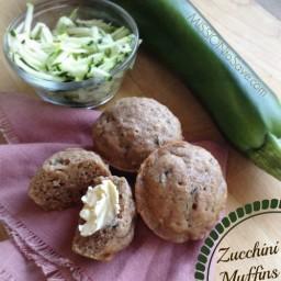Classic Zucchini Bread Recipe (or Zucchini Muffins)