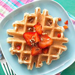 Classic Sourdough Waffles or Pancakes