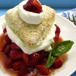 Classic Strawberry Shortcakes with Buttermilk Biscuits
