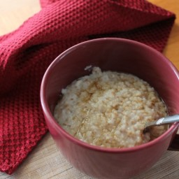Clean Coconut Steel Cut Oats