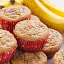 Clean Eating Banana Muffins