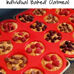 Clean Eating Individual Baked Oatmeal