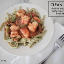 Clean Mung Bean Fettucine Recipe