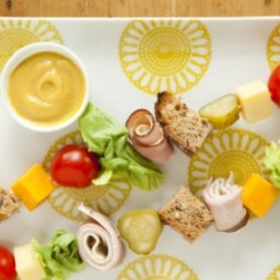 Club Sandwich Kabobs