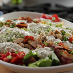 Cobb Salad with Blue Cheese Dressing
