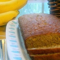 Coconut and Macadamia Nut Banana Bread