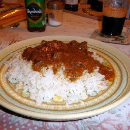 Coconut Beef Madras