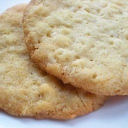 Coconut Butter Cookies