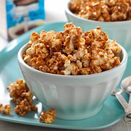Coconut & Caramel Popcorn