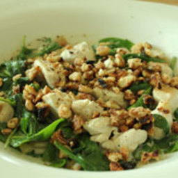 Coconut Chicken With Spinach - Candida Diet