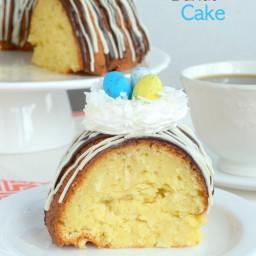 Coconut Cream Bundt Cake
