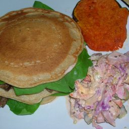 Coconut-cumin Pancakes Stuffed with Veggies