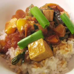 Coconut Curry Tofu