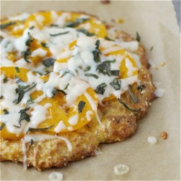 Coconut Flour Pizza Crust {perfect for pizza night}