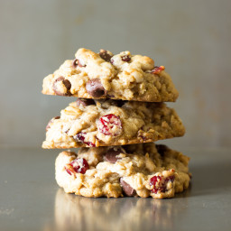 Coconut Oil Cowboy Cookies Recipe