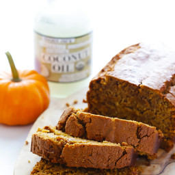 Coconut Oil Pumpkin Bread