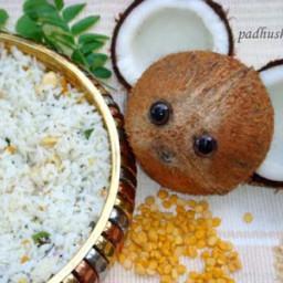 Coconut Rice-Thengai Sadam