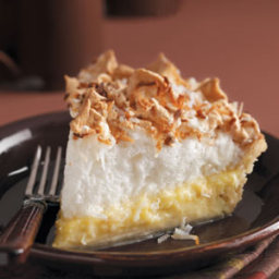 Coconut Cream Angel Pie Recipe