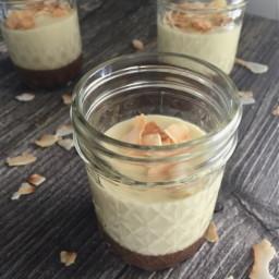 Coconut Macaroon Custard