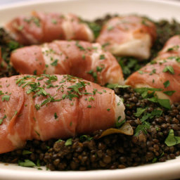 Cod Baked With Prosciutto