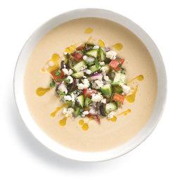 Cold Chickpea-Tahini Soup