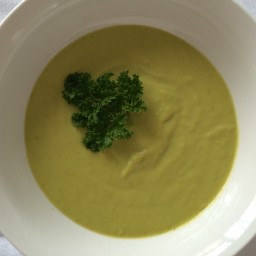 Cold Green Pea Soup