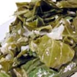 Collard Greens with Smoked Turkey Wings