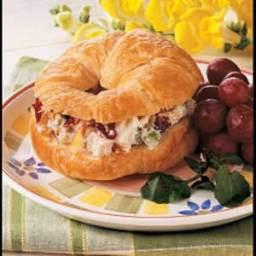 Colorful Chicken Croissants Recipe