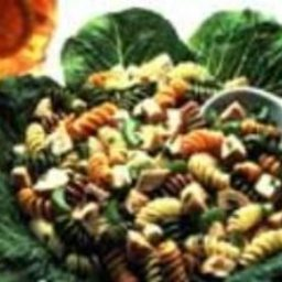 Colorful Turkey Pasta Salad