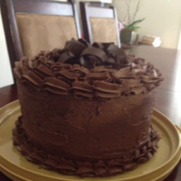 Colton's and Sandy's Chocolate Cake