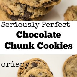 Comfort Food Chocolate Chunk Cookies