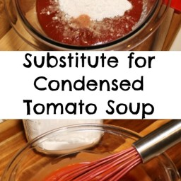 Condensed Tomato Soup Substitute
