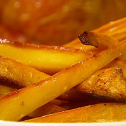 Confit of parsnips