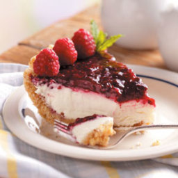 Contest-Winning Raspberry Cream Pie Recipe