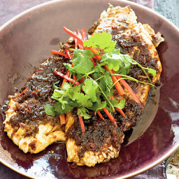 Cooking club's Asian-style snapper