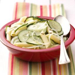 Cool Cucumber Pasta Recipe