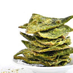 Cool Ranch Spinach Tortilla Chips