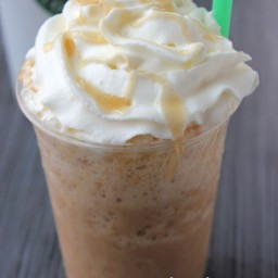Copycat Starbucks Caramel Frappuccino
