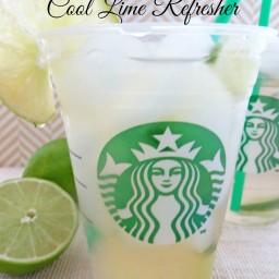 Copycat Starbucks Cool Lime Refresher