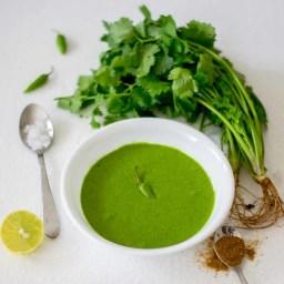Coriander Mint Chutney for Sandwiches | Green Chutney for Sandwich Recipe