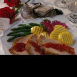 Coriander Pork Loin with Currant Sauce